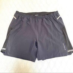 Brooks Sherpa Running Shorts Grey